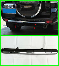 BLACK bottom rear bumper cover trim For 2010-2016 Toyota Prado FJ150