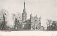 Postcard of Salisbury Cathedral from NW, Wiltshire, tallest church spire in UK