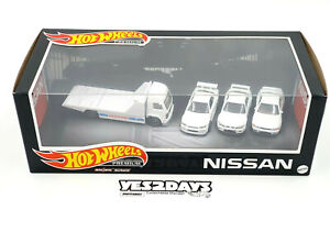 2021 Hot Wheels NISSAN Skyline GT-R Premium Garage - R32 R33 R34 + Retro Rig