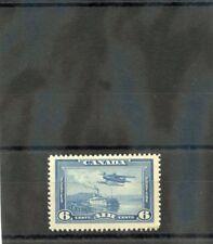 CANADA Sc C6(SG 371)**F-VF NH 1938 6c BLUE AIRMAIL $80