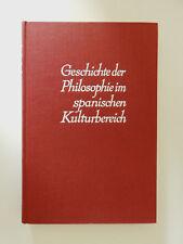 Geschichte der Philosophie im spanischen Kulturbereich Ivo Höllhuber