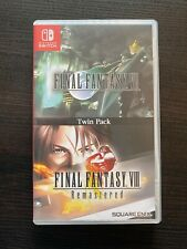Final Fantasy Vii and Viii Remastered Twin Pack - Nintendo Switch.Superb!