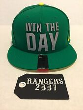 Nike True Oregon Ducks Seasonal True Snapback 'Win the Day' Hat Cap Apple Green
