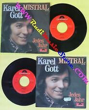 LP 45 7'' KAREL GOTT Mistral Jedes Jahr 1972 POLYDOR 2041 332 no cd mc dvd