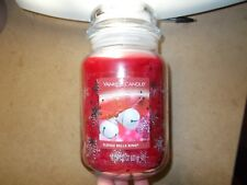 Yankee Candle USA Rare Winter Wonderland Sleigh Bells Ring Large Jar