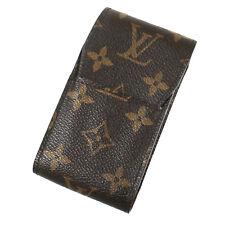 LOUIS VUITTON Etui Cigarette Case Monogram Leather M63024 France Authentic #S399
