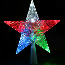 UltraLED Battery Operated Snowflakes Color Changing String Multi-Color 3.5/' C292