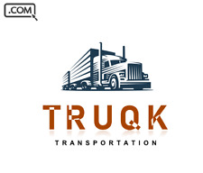 TRUQK .com   - Brandable Domain Name for sale - TRUCK TRANSPORT DOMAIN NAME