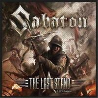 OFFICIAL LICENSED - SABATON - THE LAST STAND SEW ON PATCH METAL