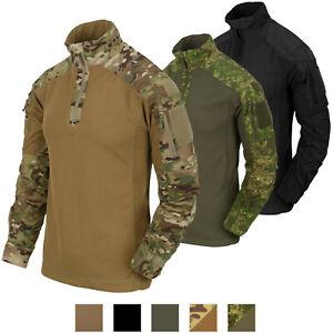 HELIKON TEX Combat Shirt MCDU Tactical Uniform Jacket Battle Dress NYCO Multicam