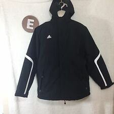 Adidas Men's Winter Coat Climacool Padded Jacket Size Large Hooded Insulted