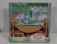 Rare! Discontinued Fisher Price Briarberry Briarberry Bears Dining Room Set New