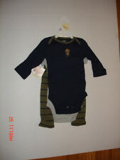 Monkey and Bananas, 3PC OUTFIT, SIZE: 9 MONTHS, NEW, CARTERS