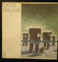 """CACTUS Restrictions 12"""" Vinyl Record ORIGINAL"""