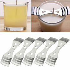 5Pcs Metal Candle Wicks Centering Device Holder Candle Making Supplies 10*2.5cm