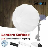 Quick Set-up 50cm Lantern Softbox Light Modifier for Studio Strobe Photography