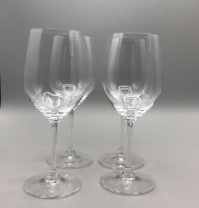 RIEDEL Crystal Vinum WineGlass Set of 4 Chablis Perfect Condition SIGNED
