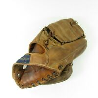 VTG Hank Aaron MacGregor I.S.G. #1 Flex-Pad Leather Baseball Glove RHT USA