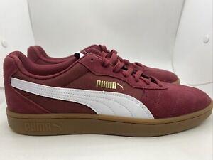 Puma Astro Kick Men's Casual Shoes 369115-05 Burgundy/Wht Sz 10