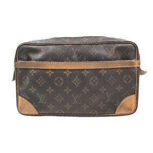 100% Authentic Louis Vuitton Monogram Compiegne 28  M51845 [Used] {09-061C}