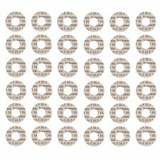 Flute Pad Shims, Removable, Adhesive-Backed, 120 Shims, 16.0mm, Made in USA!