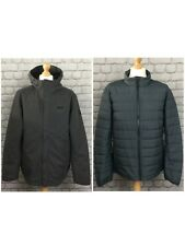 JACK WOLFSKIN MENS UK XL DARK GREY GLENCOE SKY III 3 IN 1 JACKET COAT RRP £200 C