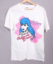 Katy Perry California Dreams 2011 Tour T Shirt M 12 14 Top Festival White Pop