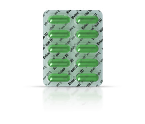 Vitamin E - Evion Capsules for Glowing Face,Strong Hair,Nails Glow,Acne Wrinkles