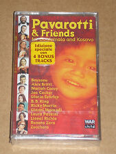 PAVAROTTI & FRIENDS(FOR GUATEMALA AND KOSOVO)-MUSICASSETTA MC SIGILLATA (SEALED)