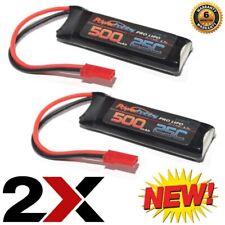 Powerhobby 1s 3.7v 500mah 25c Lipo Battery W JST Connector (2)