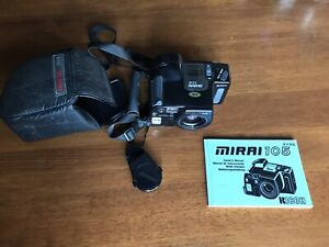 Vintage RICOH MIRAI 105 film Camera W/38-105mm Lens With Case And Manual