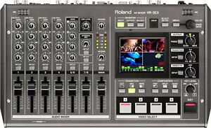 Roland VR-3EX All-in-one AV Mixer with Built-in USB Port for Web Streaming an...