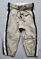 Dallas Cowboys NFL Team Issued Silver Football Pants - Size 32 wBelt 2014
