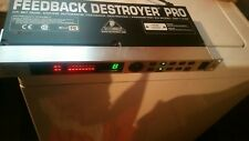 Behringer Feedback Destroyer Pro 24 Bit Parametric Eq Model DSP1124P  No reserve