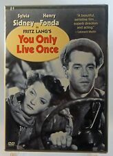 You Only Live Once (DVD, 2003) - FACTORY SEALED