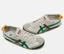 Onitsuka Tiger Unisex Mexico 66 Shoes Dl408 Birch/green Mens 8 US