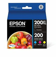 Epson T200XL-BCS DURA Ultra High Capacity Cartridge Ink Black and color combo