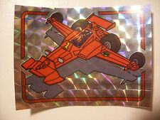 album PANINI immage Vignette Brillante hologramme MASK n°132 FIREFLY DRAGONFLY