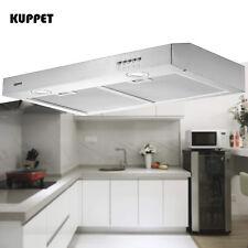 "30"" Stainless Steel Under Cabinet Range Hood Push Panel Kitchen w/ Carbon Filter"