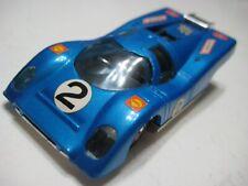 Suzuki (Japan) Blue Porsche 917K 1:50 Plastic/Wind-Up