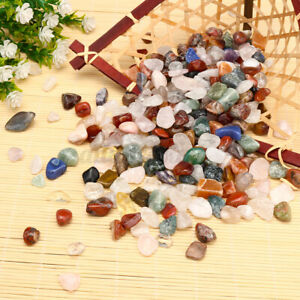 1KG Natural Tumbled Gemstone Crystal Quartz Chip Bulk Mixed Stone Jewelry Craft