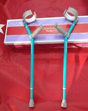 American Girl Arm Crutches Polio MD Cerebral Palsy CP Spina Bifida NIB