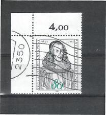Gestempelte ungeprüfte Briefmarken aus der BRD (1980-1989) als Einzelmarke
