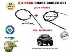 FOR FORD RANGER 2.5DT TDCi 4X2 2006-2011 LEFT + RIGHT REAR HAND BRAKE CABLE