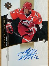 09-10 UPPER DECK ULTIMATE COLLECTION ERIC STAAL ULTIMATE SIGNATURE