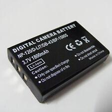 Li-ion Battery for Insignia NS-DV111080F 3.7V NP-120
