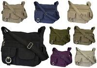 Tasche Damentasche Handtasche Stofftaschen Schultertasche Farbwahl Neu