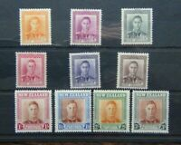New Zealand 1947 - 52 set to 3s MM