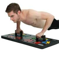 NEW Push Up Rack Board System Fitness Workout Train Gym Exercise Stands