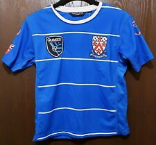 Blue San Jose Earthquakes Soccer Jersey Boy 6-9 STITCHED